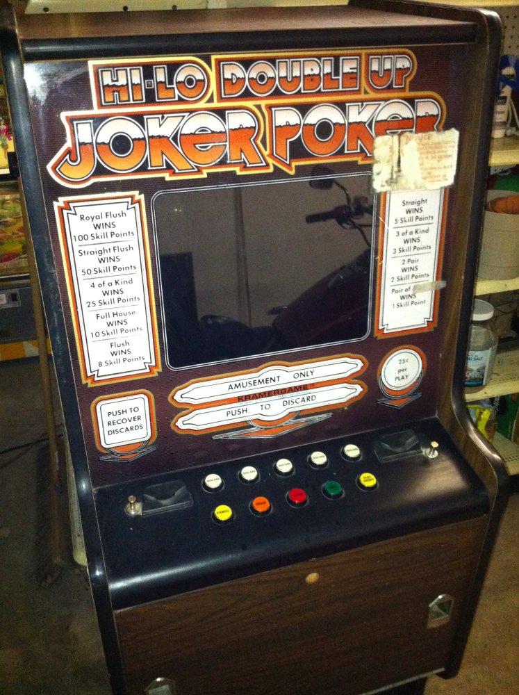 Double Joker Poker Slot Machine