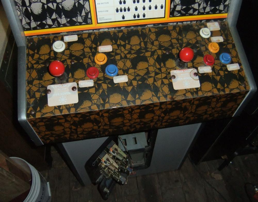 golden axe arcade machine for sale